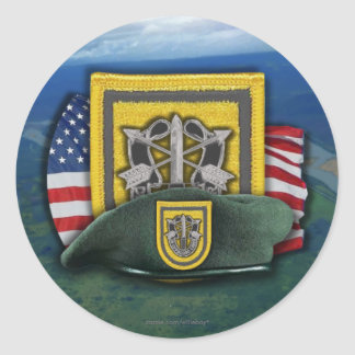 1st Special forces veterans vets flash nam Sticker