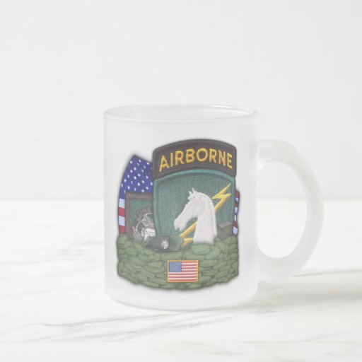 1st special operations command patch frosty mug