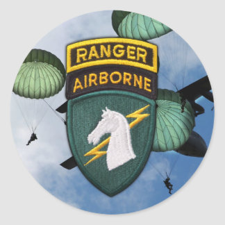 1st Special operations command veterans socom Stic Classic Round Sticker