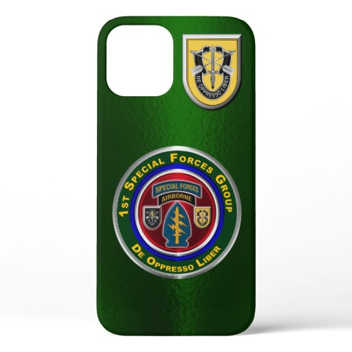 1st Special Operations Group Customized iPhone 12 Case