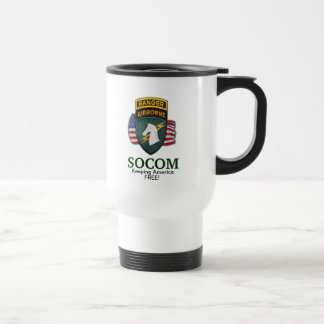 1st special ops operations command veterans socom travel mug