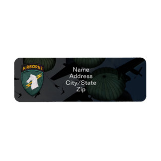 1st special ops usacapoc a patch custom return address labels