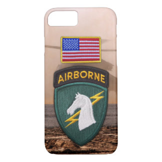 1st Special ops USACAPOC Veterans Vets Patch iPhone 7 Case