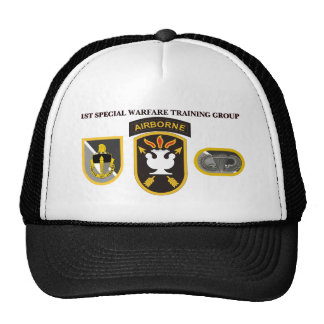 1ST SPECIAL WARFARE TRAINING GROUP HAT