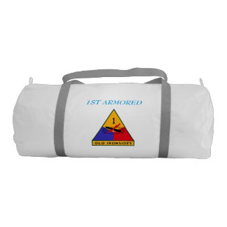 1ST SQUADRON 1ST CAVALRY 1ST ARMORED GYM BAG