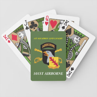1ST SQUADRON 32ND CAVALRY 101ST ABN PLAYING CARDS
