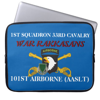 1ST SQUADRON 33RD CAV 101ST ABN LAPTOP SLEEVE