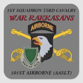 1ST SQUADRON 33RD CAVALRY 101ST AIRBORNE STICKERS