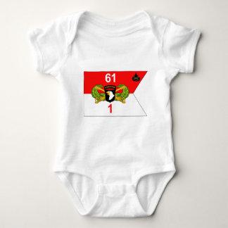 1st Squadron 61st Armored Cavalry Regiment Baby Bodysuit