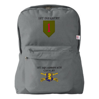 1ST SQUADRON 6TH CAVALRY 1ST INFANTRY BACKPACK