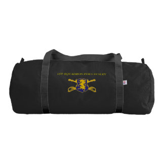 1ST SQUADRON 6TH CAVALRY 1ST INFANTRY GYM BAG