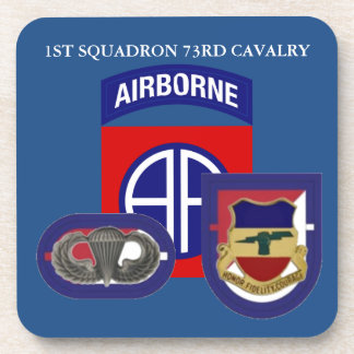 1ST SQUADRON 73RD CAVALRY DRINK COASTERS