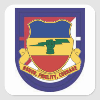 1ST SQUADRON 73RD CAVALRY FLASH/DUI STICKERS