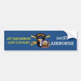 1ST SQUADRON 75TH CAVALRY 101ST ABN BUMPER STICKER