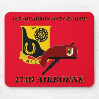 1ST SQUADRON 91ST CAVALRY 173D AIRBORNE MOUSEPAD