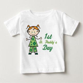 1st St Paddys Day Infant Shamrock Tee