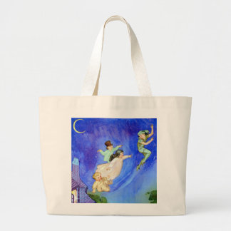 1ST STAR ON YOUR RIGHT, STRAIGHT ON UNTIL MORNING TOTE BAGS