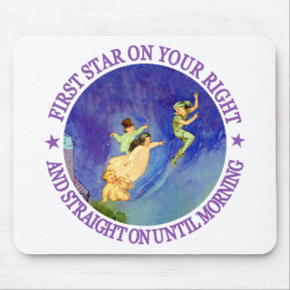1ST STAR ON YOUR RIGHT, STRAIGHT ON UNTIL MORNING MOUSE PAD