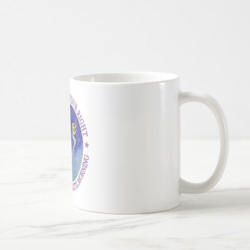 1ST STAR ON YOUR RIGHT, STRAIGHT ON UNTIL MORNING CLASSIC WHITE COFFEE MUG