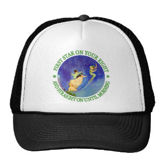 1ST STAR ON YOUR RIGHT, STRAIGHT ON UNTIL MORNING TRUCKER HAT