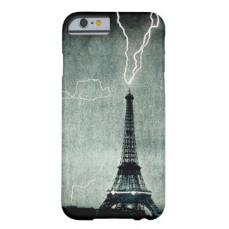 1st Strike - Lightning hits Eiffel Tower 1902 iPhone 6 Case