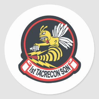 1st TAC Recon Squadron Round Sticker