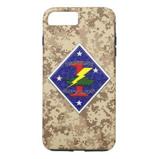 1st Tank Battalion - 1st Marine Division Camo iPhone 8 Plus/7 Plus Case