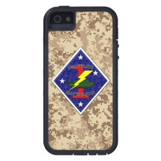 1st Tank Battalion - 1st Marine Division Camo iPhone SE/5/5s Case