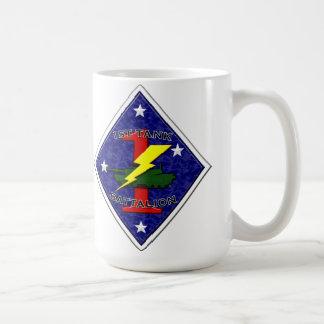 1st Tank Battalion - 1st Marine Division Coffee Mug