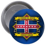 1st Tennessee Infantry 4 Inch Round Button