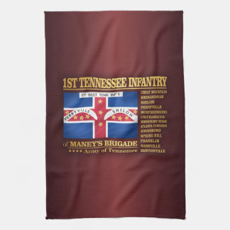 1st Tennessee Infantry (BA2) Hand Towel