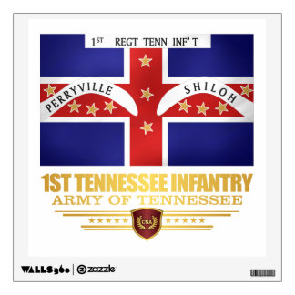1st Tennessee Infantry Wall Decal
