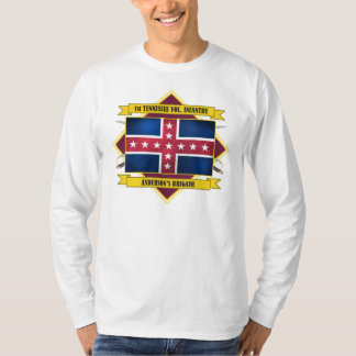 1st Tennessee Volunteer Infantry (Flags 3) Shirt