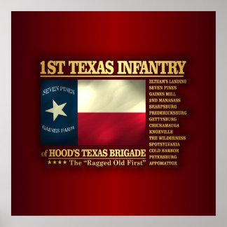 1st Texas Infantry (BA2) Poster