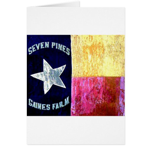 1st Texas Infantry, Hood's Brigade, Lone Star Flag Card