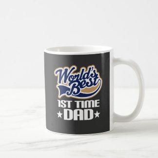 1st Time Dad New Dad Gift Idea Coffee Mug
