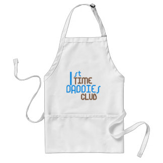 1st Time Daddies Club (Blue) Adult Apron
