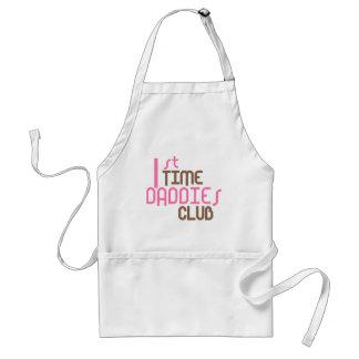 1st Time Daddies Club (Pink) Adult Apron