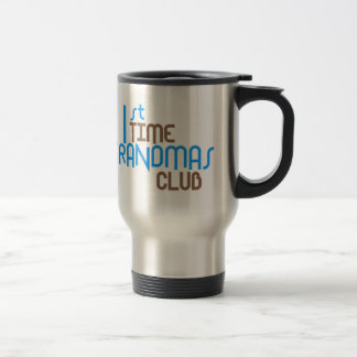 1st Time Grandmas Club (Blue) Mugs