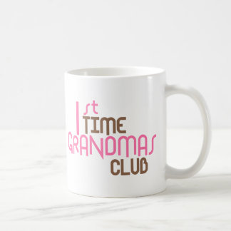 1st Time Grandmas Club (Pink) Coffee Mug