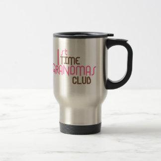 1st Time Grandmas Club (Pink) Travel Mug