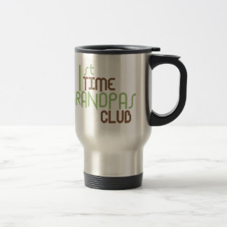 1st Time Grandpas Club (Green) Mug