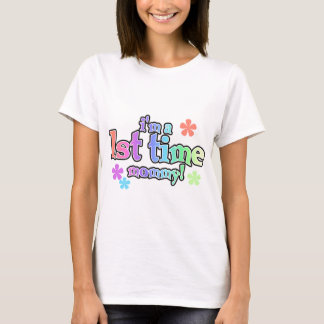 1st Time Mommy-Rainbow T-shirts and Gifts