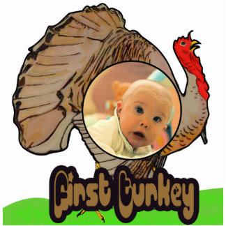 1st Turkey Photo Magnet