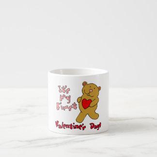 1st Valentines Day Espresso Cup