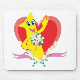 1st Wedding Anniversary Mouse Pad