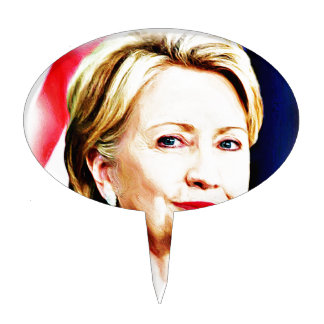 1st Woman President Hillary Clinton 2016_ Cake Topper