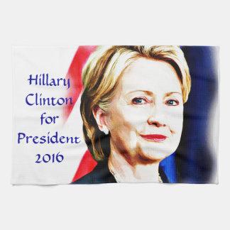 1st Woman President Hillary Clinton 2016_ Hand Towels