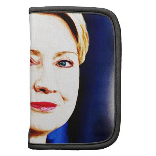 1st Woman President Hillary Clinton 2016_ Folio Planner