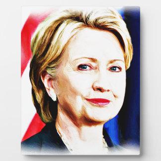 1st Woman President Hillary Clinton 2016_ Plaque